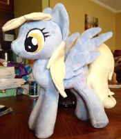 Derpy Plush - New Pattern - For Sale! by Mimi-the-Skitty