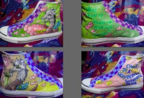 Discord MLP Custom Converse by Acrylicolt