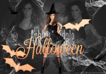 Ashley Tisdale Free PSD HALLOWEEN Header by Anuya