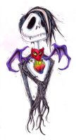 Davey Skellington colored by Anarchpeace