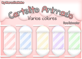 Cartelito Animado n.n by marusitaneko