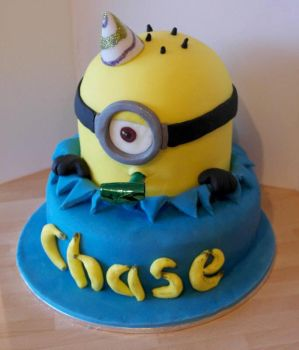 Minion Cake by mike-a