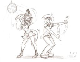 Stacey and Trenton -Getting Down- by Django90