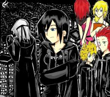 Xion and the Dark City by darkangelyuna