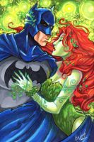 Batman and Ivy by skardash