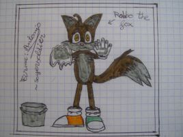 Robbo the fox by soyersoldier