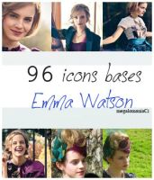 96 icons bases Emma Watson by megalomaniaCi