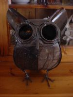 steel owl by dapmay