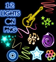 Lights PNG by JosmaJB