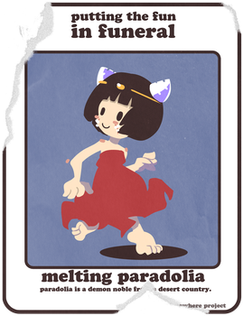 Sticker Set - Paradolia by Dizzybone