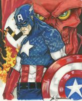 Captain America by ChrisOzFulton