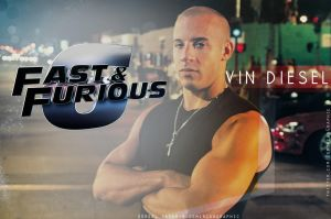 Dominic Toretto by DemircanGraphic