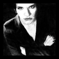 Brian Molko Sketch by youhandsomedevil88