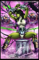 SHe-Hulk by diabolumberto