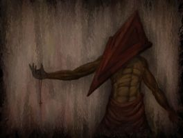 Pyramid Head Nightmare by MaxPaucar92
