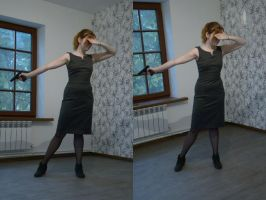 Agent Lisa 7 by Panopticon-Stock