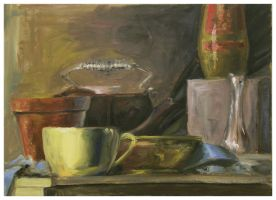 Still Life on a Table by Peacewise
