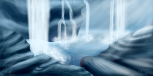 Waterfalls (NOTFREE) by HM-AliceVI