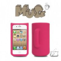 Most Creative Mug iPhone 4/4S Silicon Case by tracylopez