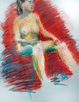seated nude 3 by thegreatjason