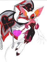 Heartless Rouge:Heart's Wings by XenomorphicDragon