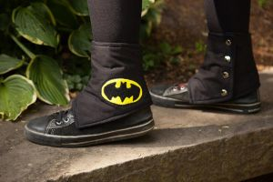 NerdWear: Batman Spats by Costumy