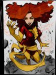 Dark Phoenix Florida Supercon Comission By Reiq by Kenkira