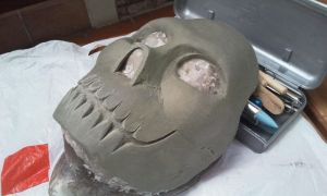 WIP Smile Mask by foxdog77