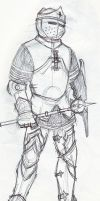 Norse Cleric by Anvilous