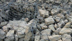 20 - rocks and wire by WCat-stock