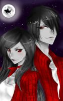 MarMar and Marshall Lee by ShikiAriandriNight