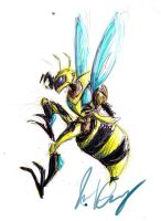 TFASCRAP: Killer Bee by aerinsol