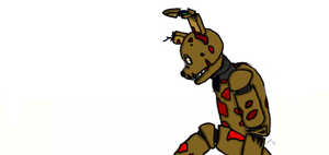 Springtrap Old/New by ilovefireheart123