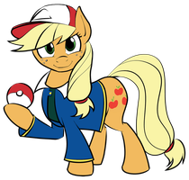 AJ the Pokemon Trainer by Acesential