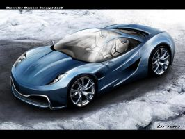 Chevrolet Concept 2009 Sketch by brianspilner