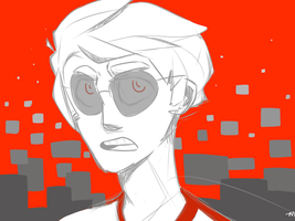 Dave Strider by zemeah