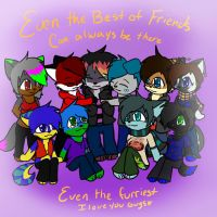 My best friends by DarkDreamingBlossom