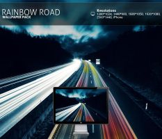 Rainbow Road - Wallpaper Pack by PatrickRuegheimer