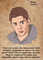 Dean Winchester by TheSpyWhoLuvedMe