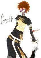 Goth Kankurou Colour by Fluffy-Waffle