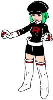 Team Rocket - Grunt Unit F by luckyboy1983