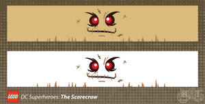 LEGO Minifig Decals - The Scarecrow by Concore