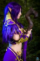 Night Elf - World of Wacraft - Meditation by MayahCosplay