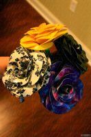 4 duct tape roses by lyssalove