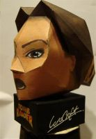 lara's bust papercraft by KarenGE