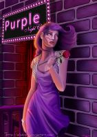 Purple Feeling by Alsheeny