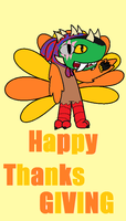 happy thanksgiving by chameleon123456