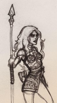 Character Concept - TOR Beorning by hauntedwolfman