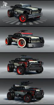 Battle Carzzz - Oldtimer by 600v