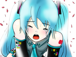 Hatsune Miku: I Need You Right Now by DarkStarAngelo
